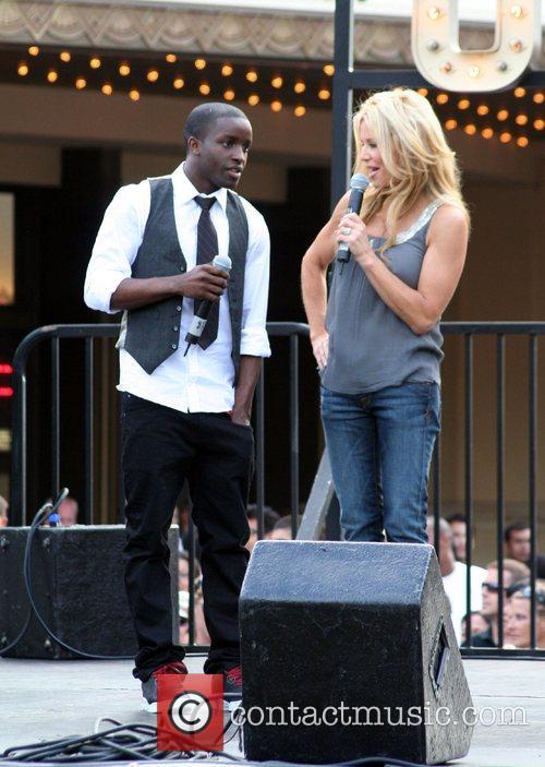 Elijah Kelley and Ellen K The cast of...