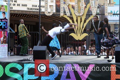 Elijah Kelley The cast of the movie 'Hairspray'...