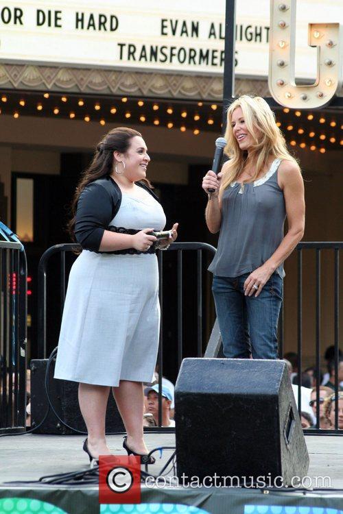 Nikki Blonsky and Ellen K The cast of...