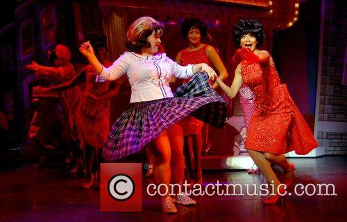 Leanne Jones Hairspray - photocall at Shaftesbury Theatre...