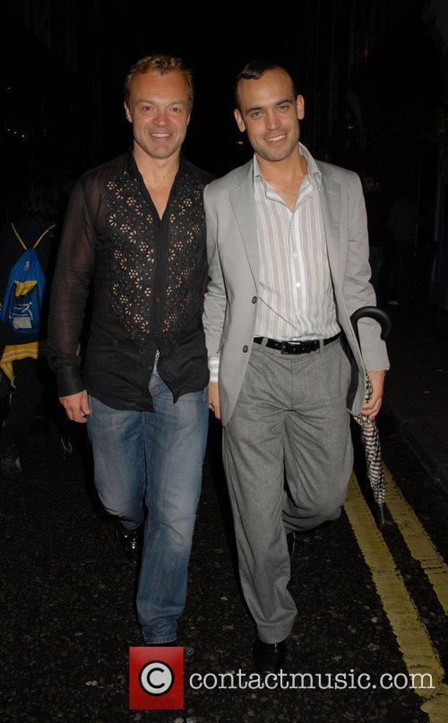 Graham Norton,  UK Film Premiere 'Hairspray' After...
