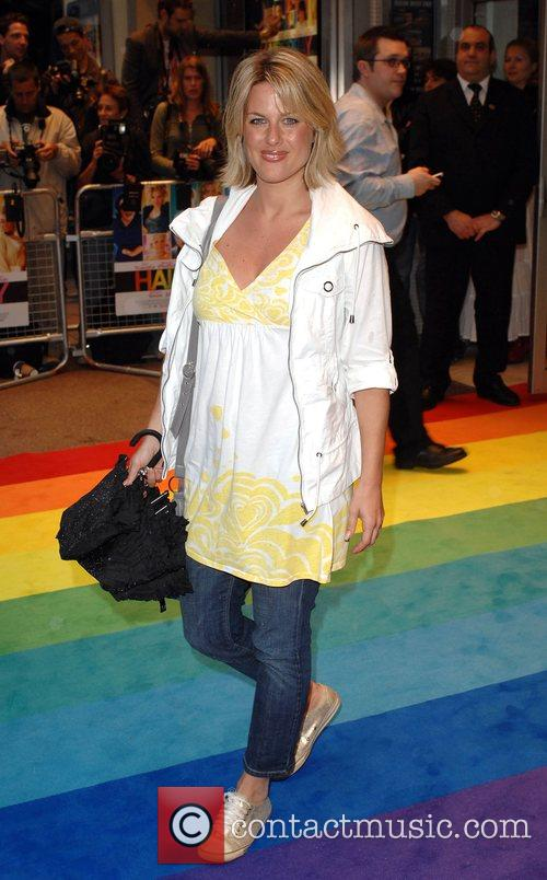 Georgina Bouzova UK Premiere of 'Hairspray' held at...
