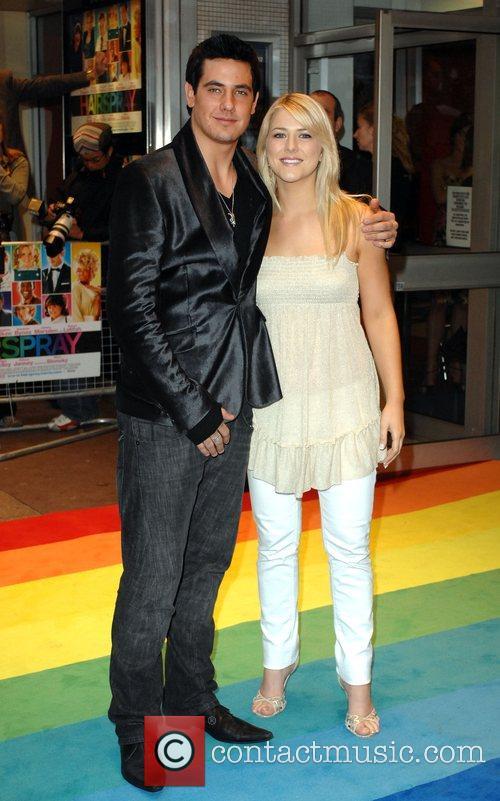 Susan McFadden and Danny Bayne UK Premiere of...