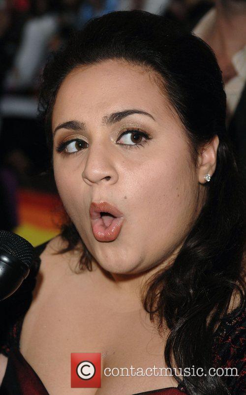 Nikki Blonsky UK Premiere of 'Hairspray' held at...