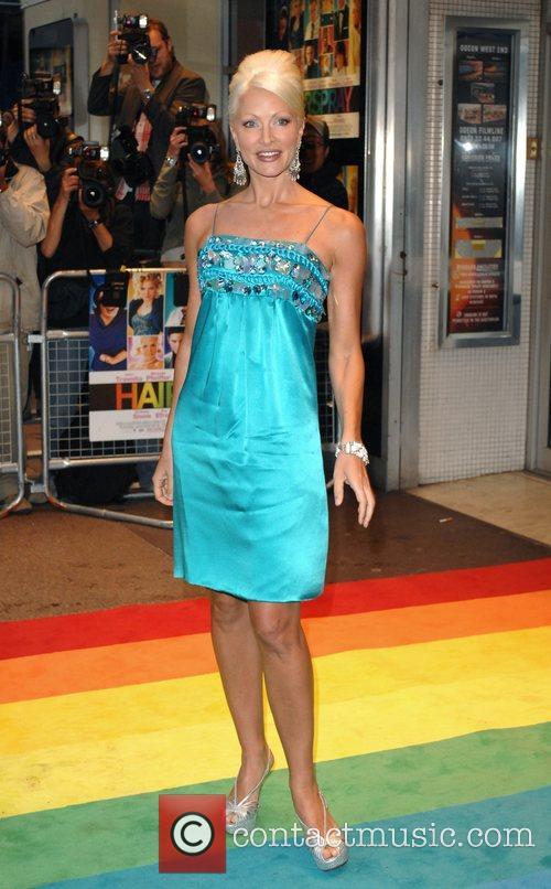 Caprice Bourret UK Premiere of 'Hairspray' held at...