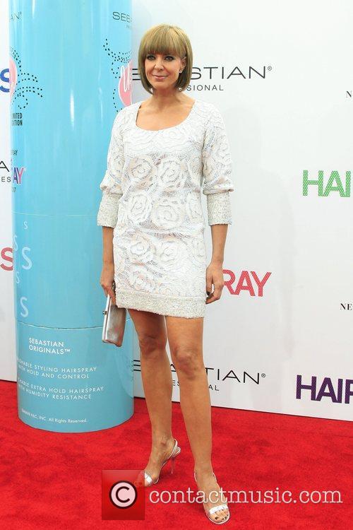 Allison Janney Los Angeles Premiere of 'Hairspray' held...