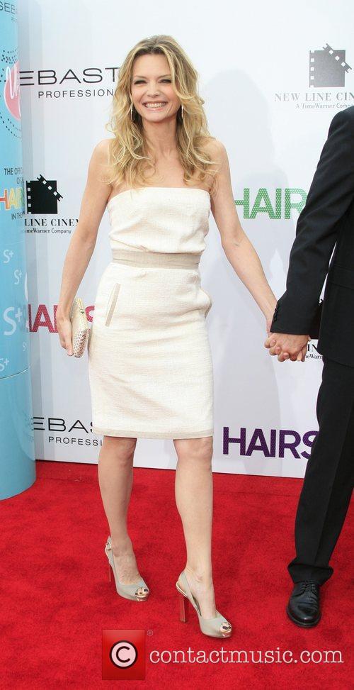 Michelle Pfeiffer Los Angeles Premiere of 'Hairspray' held...