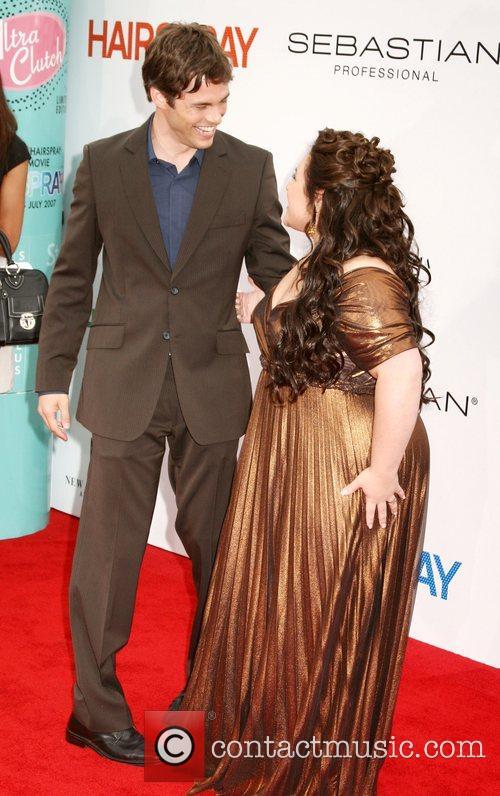 James Marsden and Nikki Blonsky Los Angeles Premiere...