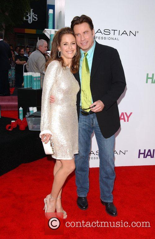 Kelly Preston and John Travolta Los Angeles Premiere...