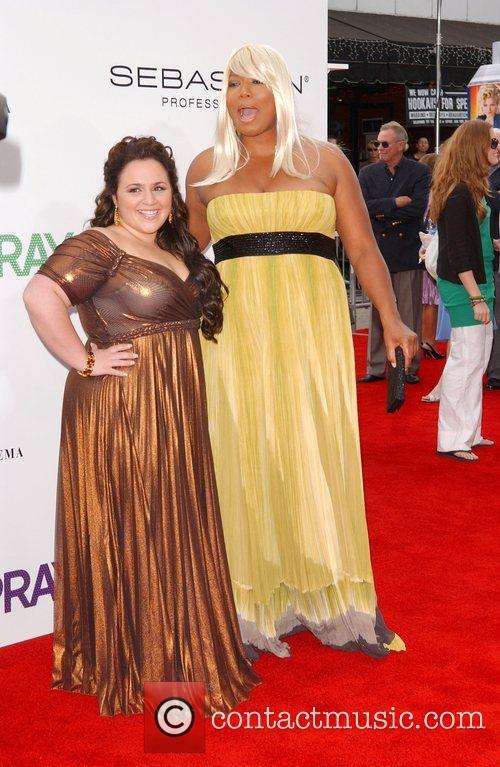Nikki Blonsky and Queen Latifah Los Angeles Premiere...