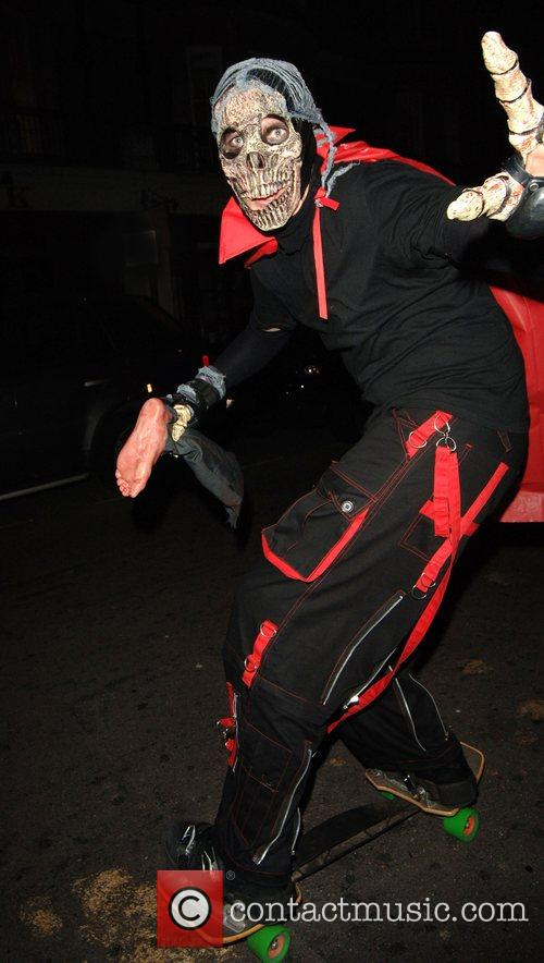Halloween Revellers Dressed As Ghosts 5