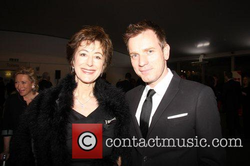 Ewan McGregor and Maureen Lipman Hampstead Theatre Spring...