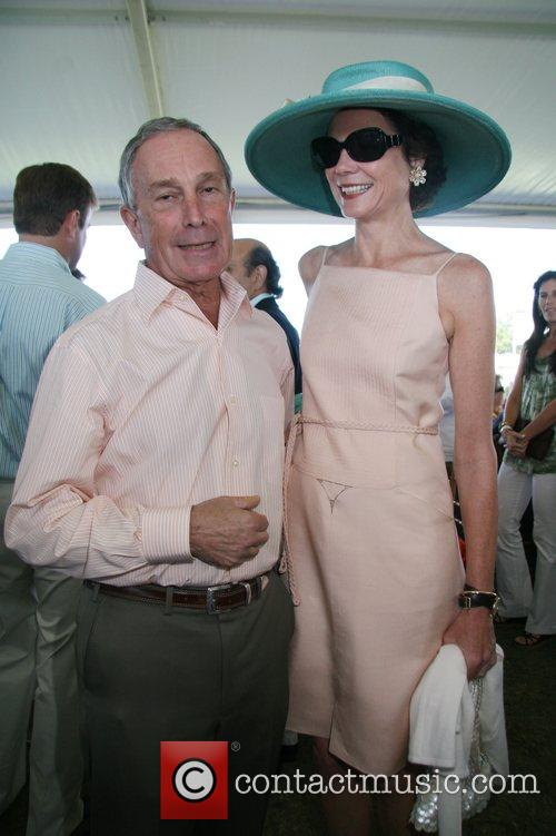 Diana Taylor, Mayor Bloomberg The Hampton Classic Horse...