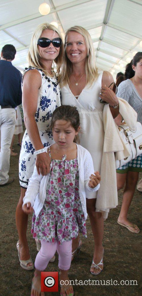 Kelly Ripa and daughter Lola The Hampton Classic...