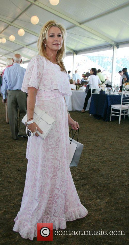 Kathy Hilton The Hampton Classic Horse Show Bridgehampton,...