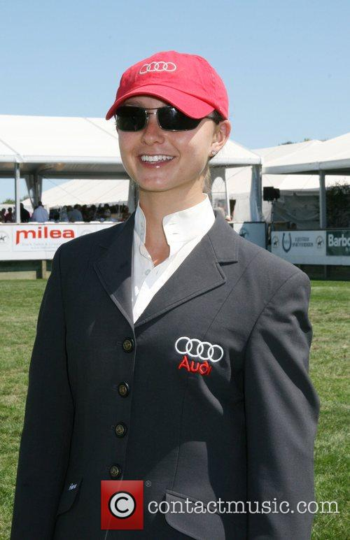 Emma Bloomberg The Hampton Classic Horse Show Bridgehampton,...