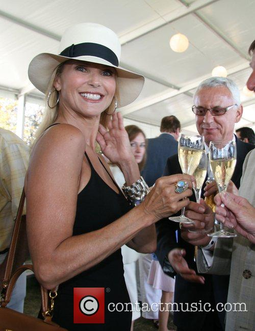 Christie Brinkley The Hampton Classic Horse Show Bridgehampton,...