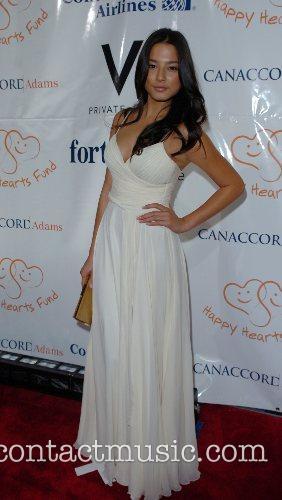 Jessica Gomes Petra Nemcova's Happy Hearts Fund Heart...