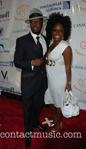 Wyclef Jean and his sister Melky Jean...