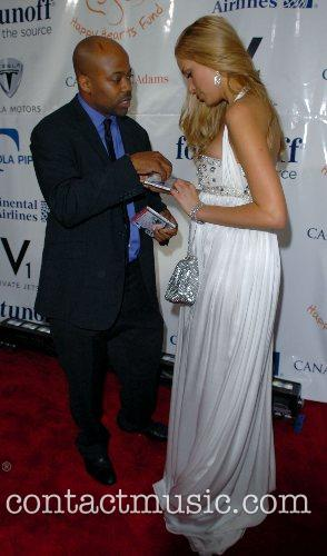 Damon Dash and Petra Nemcova 1