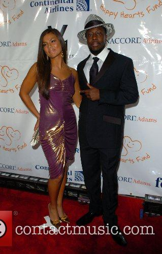 Mellisa Jimenez and Wyclef Jean Petra Nemcova's Happy...