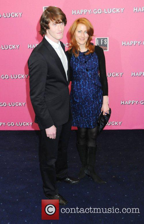 UK premiere of 'Happy-Go-Lucky' held at the Odeon...