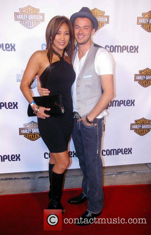 Carrie Ann Inaba, Artum Outside Boulevard 3 At A Party Sponsored By Complex Magazine and Harley-davidson 3