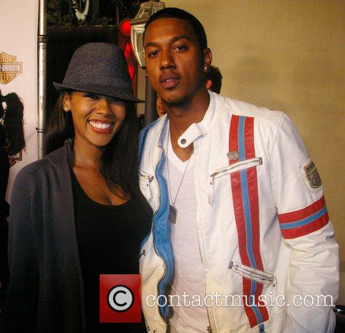 Wesley Jonathan and guest outside Boulevard 3 at...