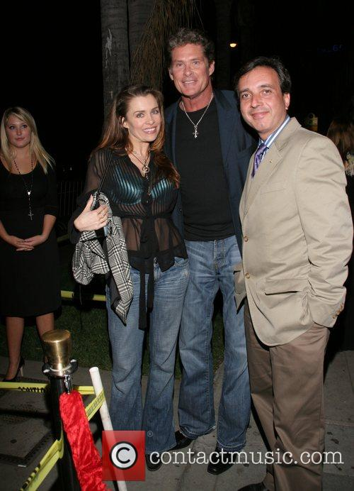 Hayley Hasselhoff, Alicia Arden and David Hasselhoff 4