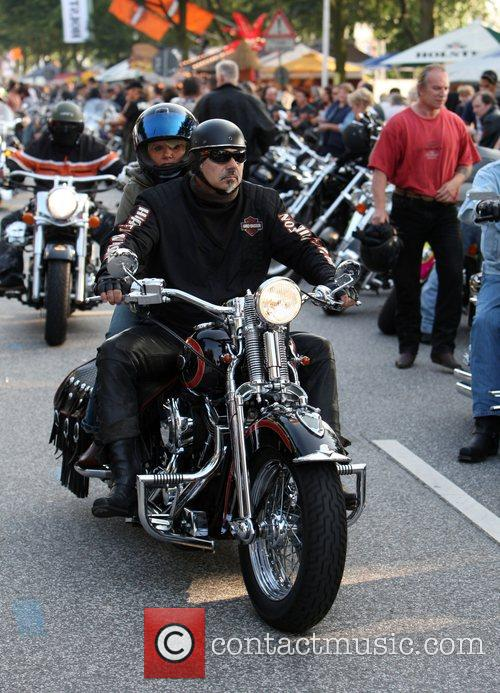 Day 1 of the 5th annual Harley Days...