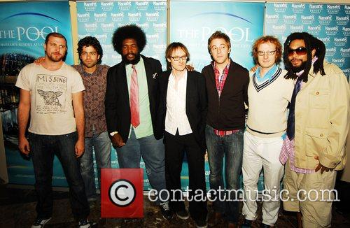 Adrian Grenier and band the Honey Brothers and...