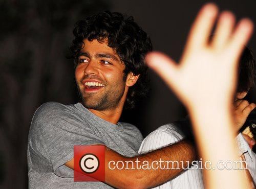 Adrian Grenier and band the Honey Brothers Party...