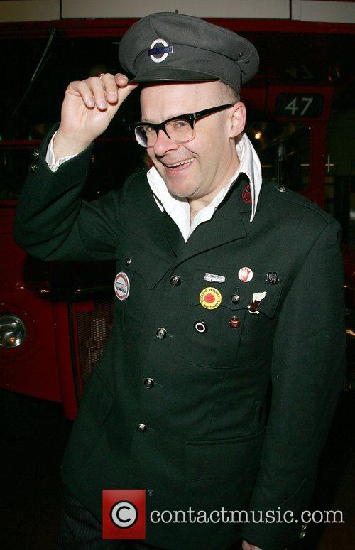 Harry Hill At the British Transport Museum at...