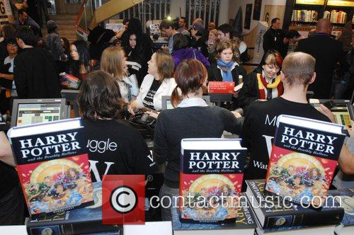 Harry Potter Book Launch Party at Waterstone's in...