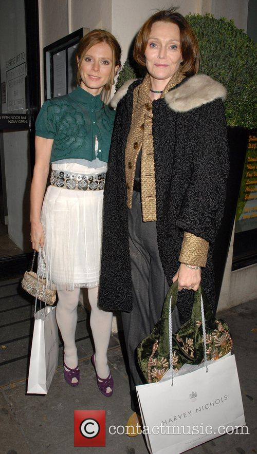 Emilia Fox, Fox and Harvey Nichols