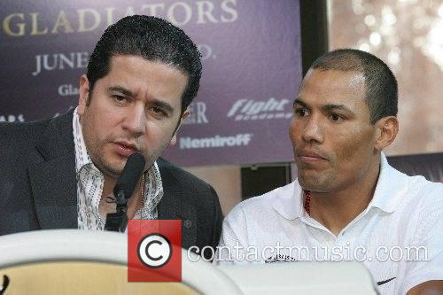 Fernando Beltran. Castillos' manager and Jose Luse 'El...