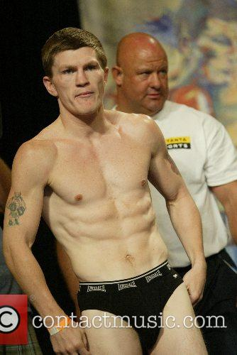 Ricky Hatton Junior Welterweight IBO Championship Weigh-Ins at...