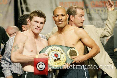 Ricky Hatton and Jose Luis Castillo Junior Welterweight...