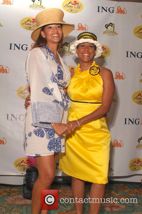 Tracy Mourning and Neki Mohan 6th annual 'Hats...