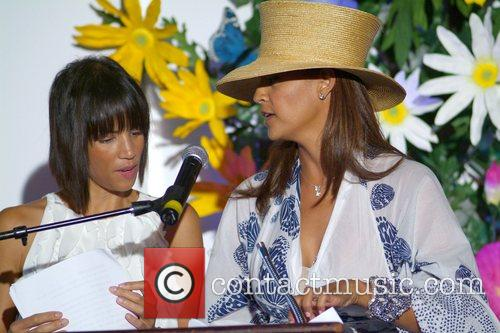Tracy Mourning and Veronica Webb 6th annual 'Hats...