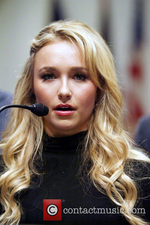 Hayden Panettiere  'Heroes' star and campaign spokesperson...