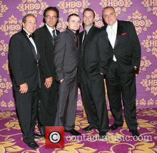 Cast of The Sopranos HBO's Post Award Reception...
