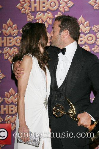 Perrey Reeves and Jeremy Piven HBO's Post Award...