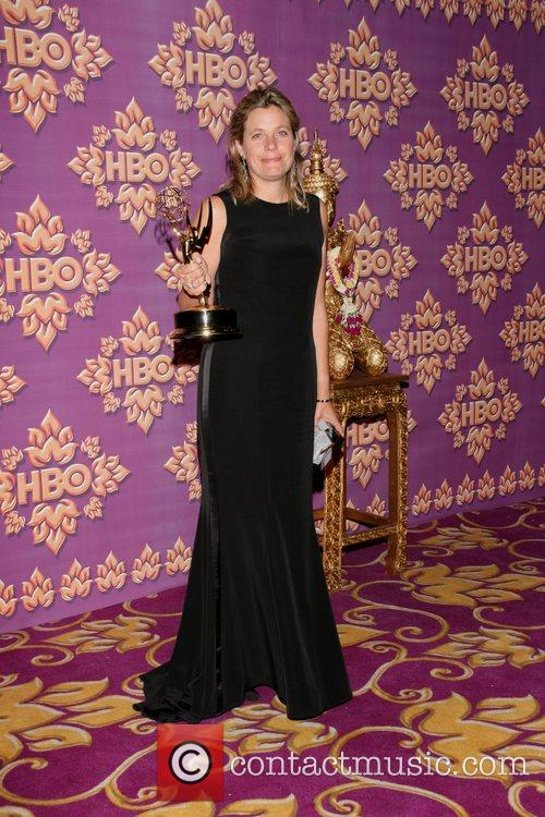 Clara George HBO's Post Award Reception following the...