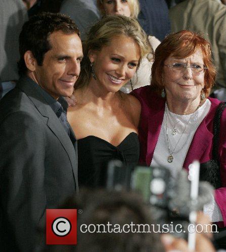 Ben Stiller, Christine Taylor and Anne Meara 6