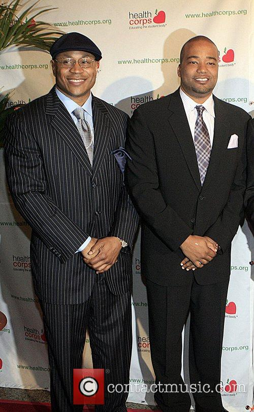 Ll Cool J and Chris Lighty 6