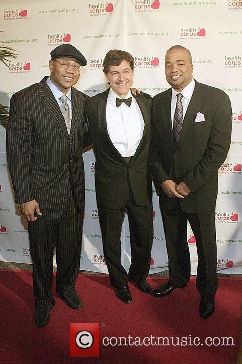 Ll Cool J, Dr, Mehmet Oz and Chris Lighty 4