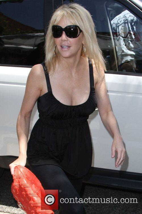 Heather Locklear arrives at the Ivy restaurant Los...