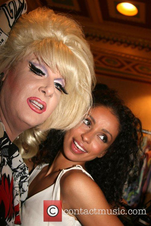 Lady Bunny and Mya Mercedes-Benz Fashion Week New...