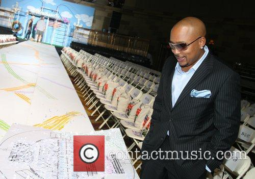 Daymond John Mercedes-Benz Fashion Week New York Spring...